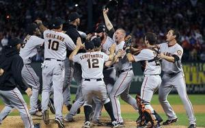 Giants Victory Celebration